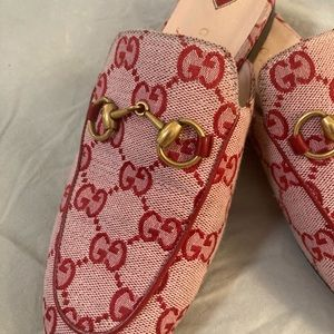 Preowned Princetown Gucci Slippers-size 34.5